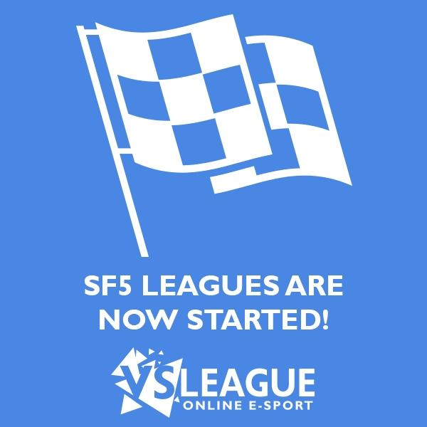 Départ des leagues Street Fighter 5!