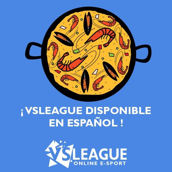 VSLeague disponible en Espagnol !