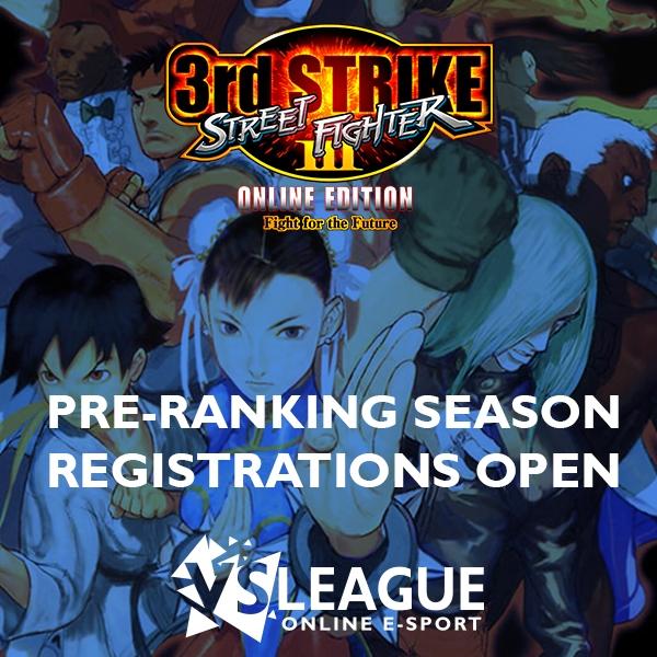 Premier championnat Street Fighter 3 : 3rd Strike !