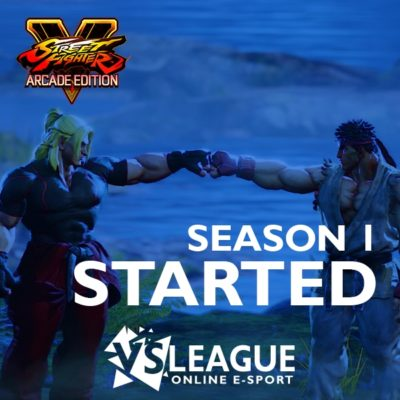 VSLeague - Online e-sport - Street Fighter 5 season 1 departure