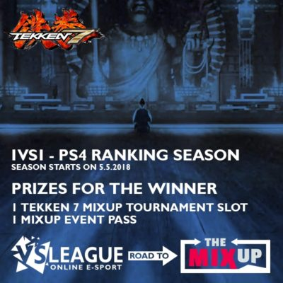 VSLeague - Online e-sport - Tekken 7 : Road to Mixup