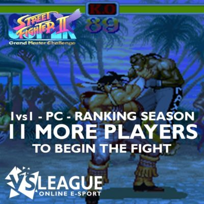 VSLeague - Street Fighter 2X - 11 more players required to start the league