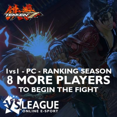 VSLeague - Tekken 7 - 11 more players required to start the league